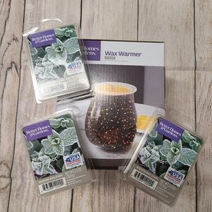 Better Homes wax fragrance warmer & 3 wax cube